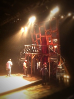 Cyrano set, design by Don Conway
