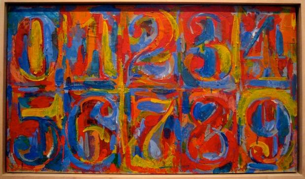 """Jasper Johns """"0 - 9"""""""