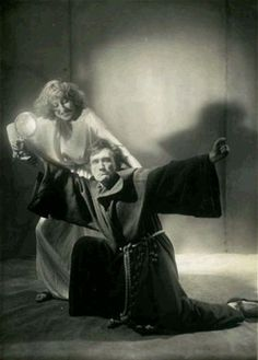 A still from a production of a play by Artaud
